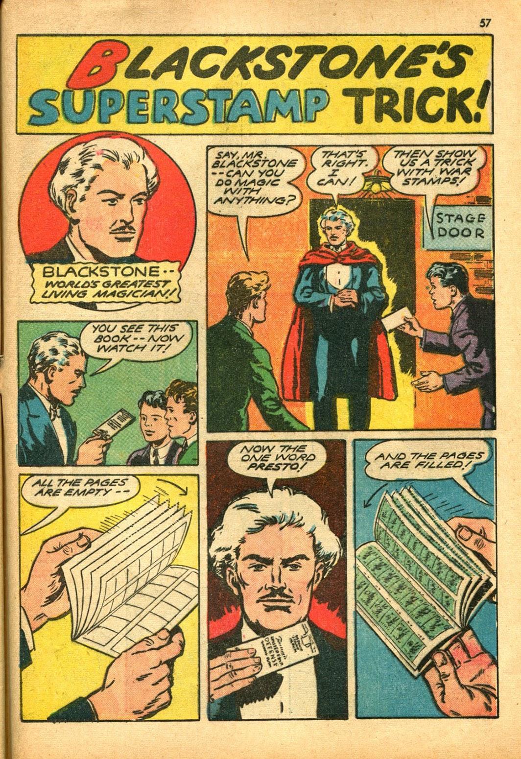 Read online Super-Magician Comics comic -  Issue #15 - 56