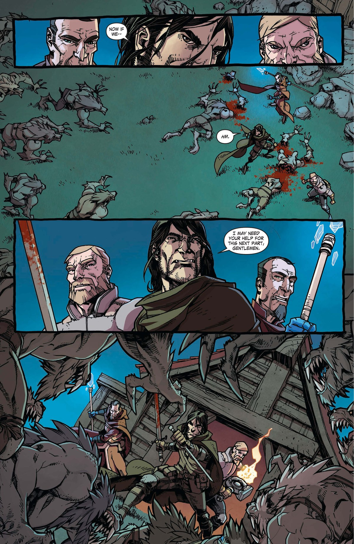 Read online World of Warcraft: Dark Riders comic -  Issue # Full - 64
