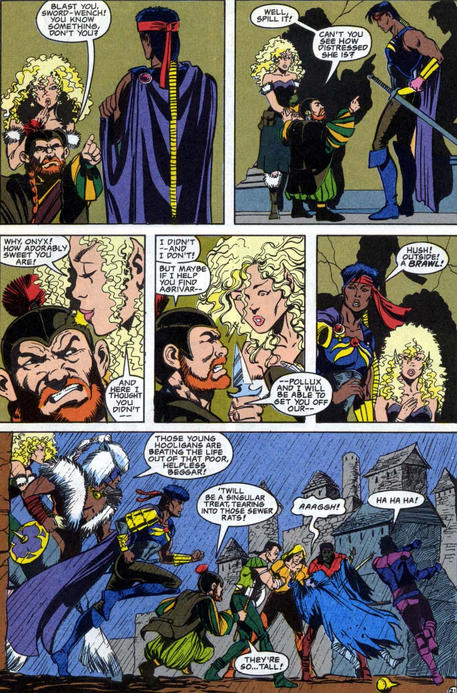 Read online Advanced Dungeons & Dragons comic -  Issue #1 - 21