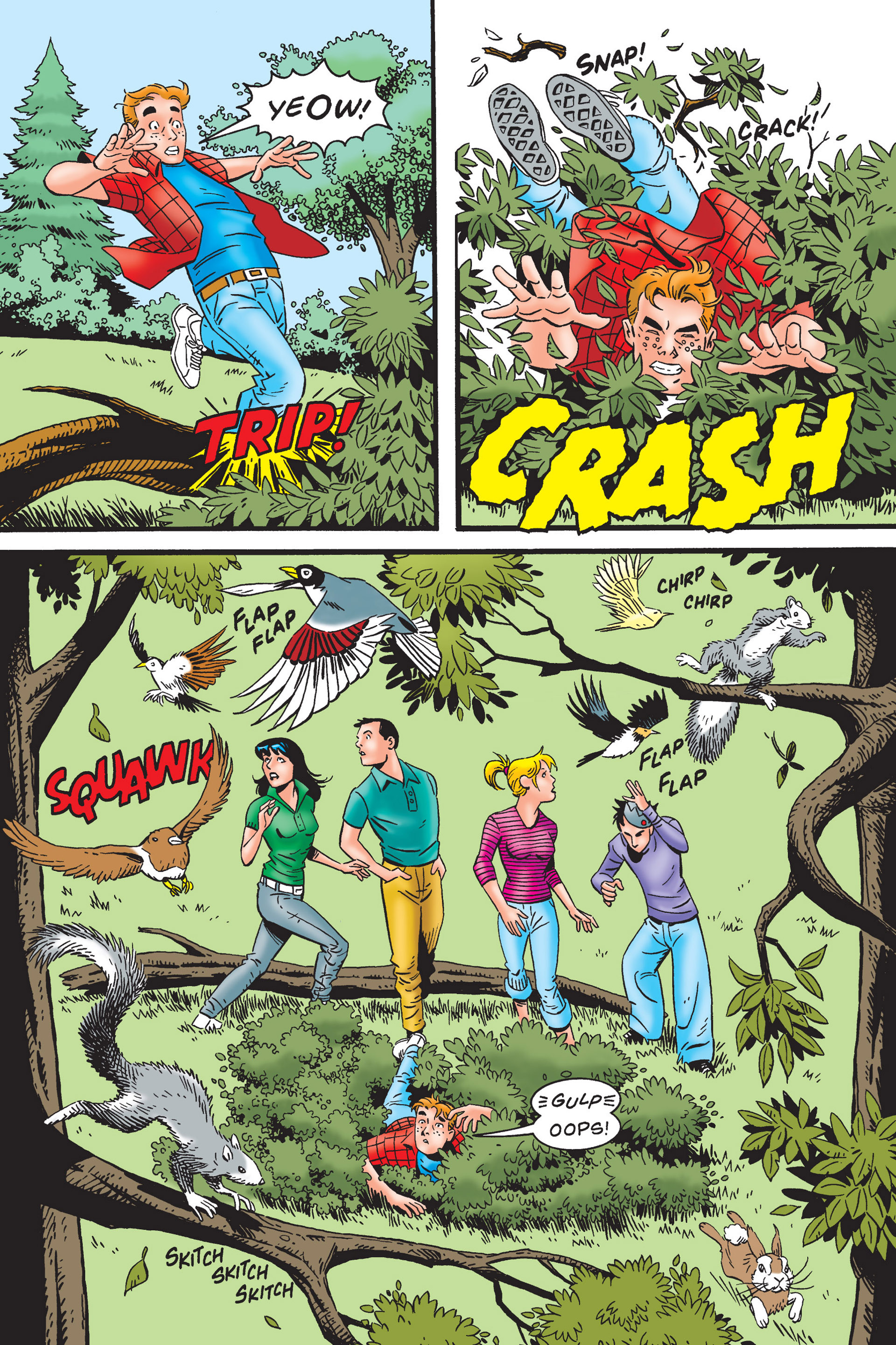 Read online Archie's New Look Series comic -  Issue #4 - 13