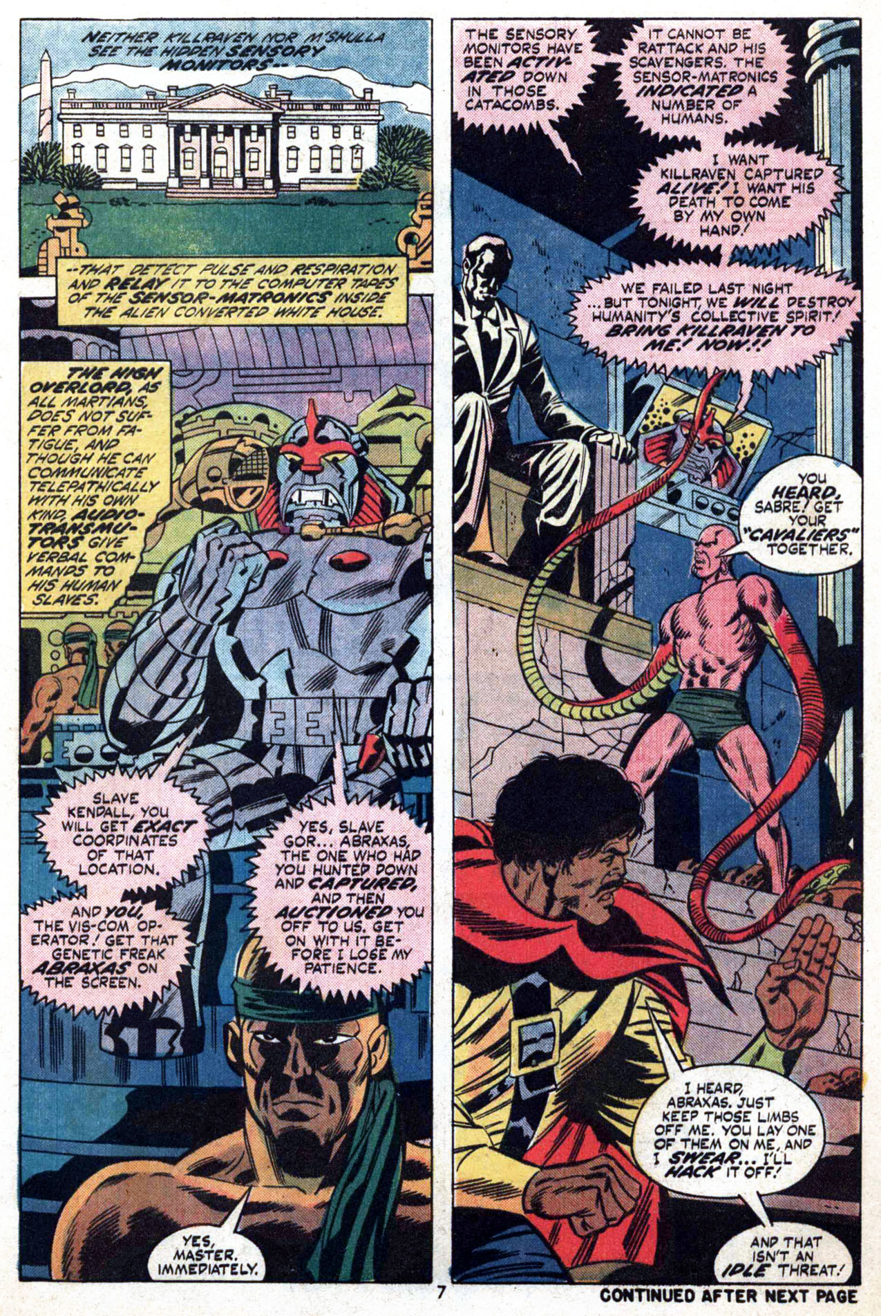 Read online Amazing Adventures (1970) comic -  Issue #24 - 8