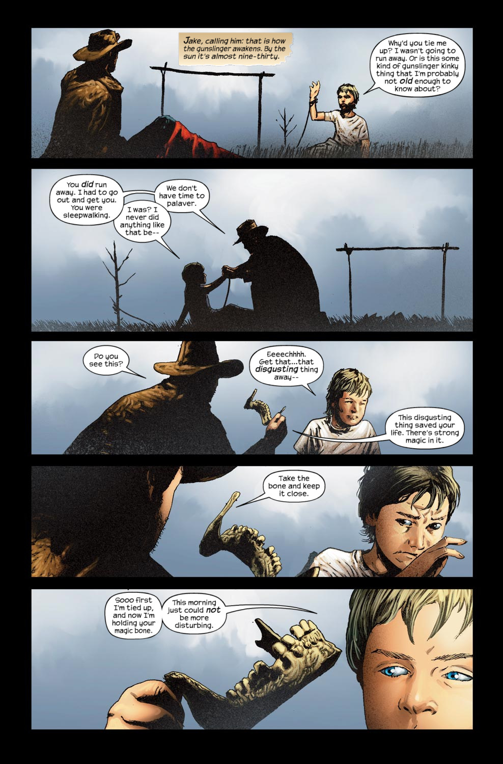 Read online Dark Tower: The Gunslinger - The Way Station comic -  Issue #5 - 8
