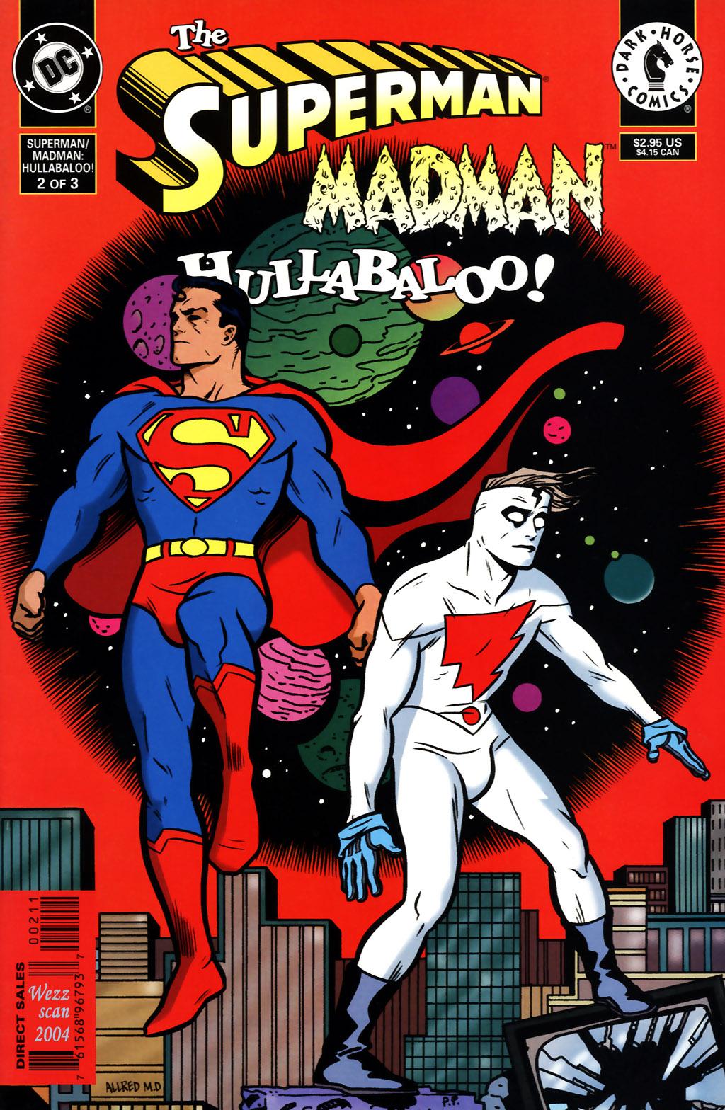 The Superman/Madman: Hullabaloo 2 Page 1