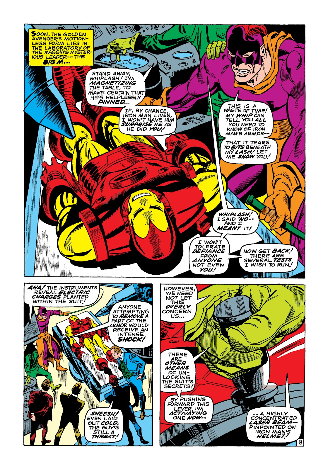Read online Marvel Masterworks: The Invincible Iron Man comic -  Issue # TPB 4 (Part 3) - 8