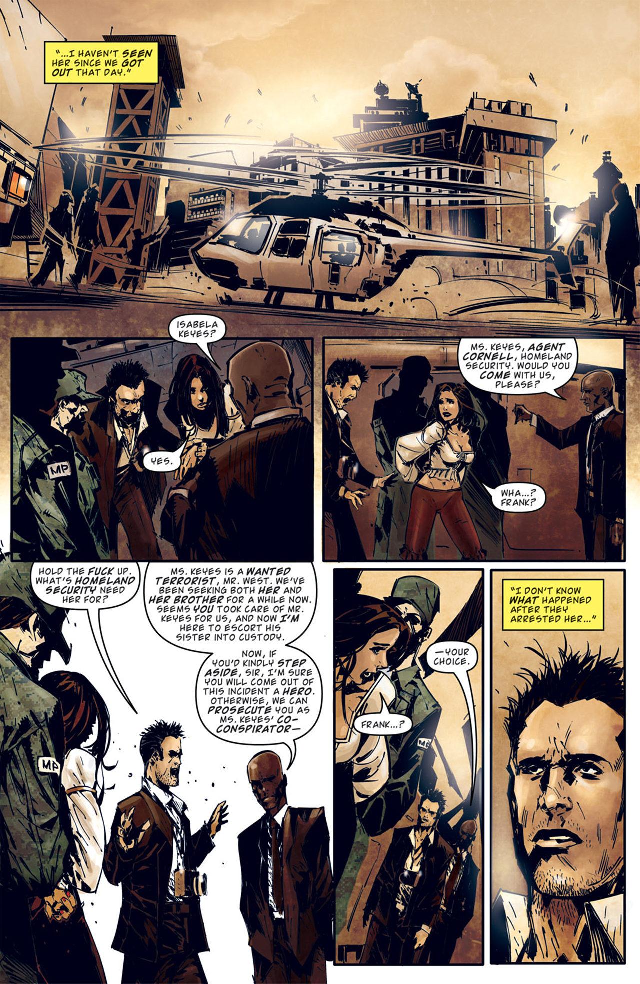 Read online Dead Rising: Road to Fortune comic -  Issue # TPB - 47