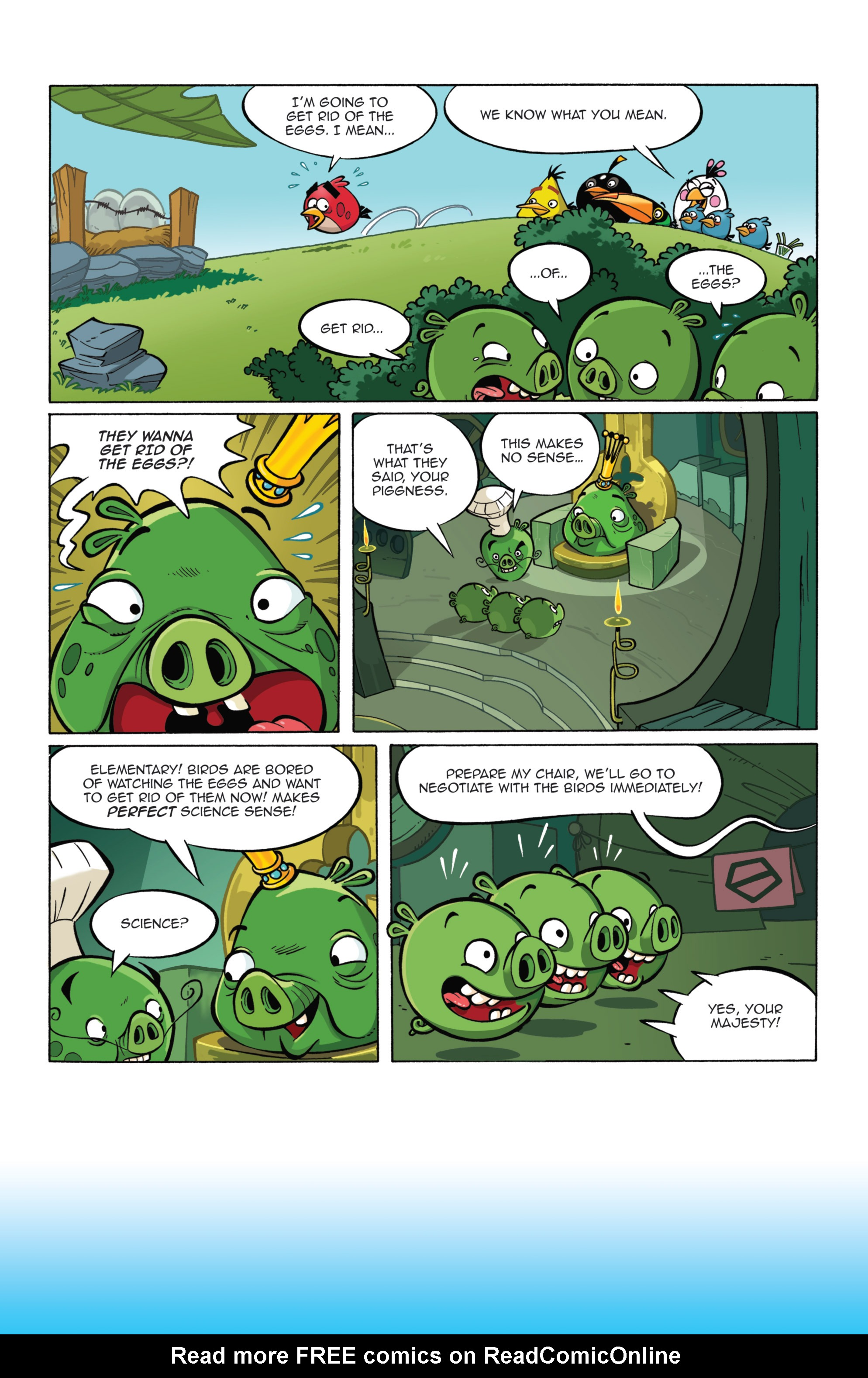 Read online Angry Birds Comics (2014) comic -  Issue #7 - 18