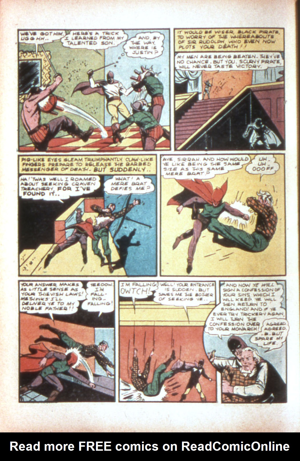 Read online Sensation (Mystery) Comics comic -  Issue #19 - 48