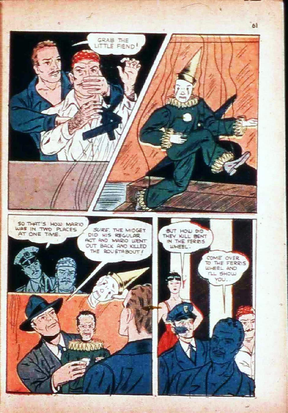 Read online Super-Magician Comics comic -  Issue #17 - 60