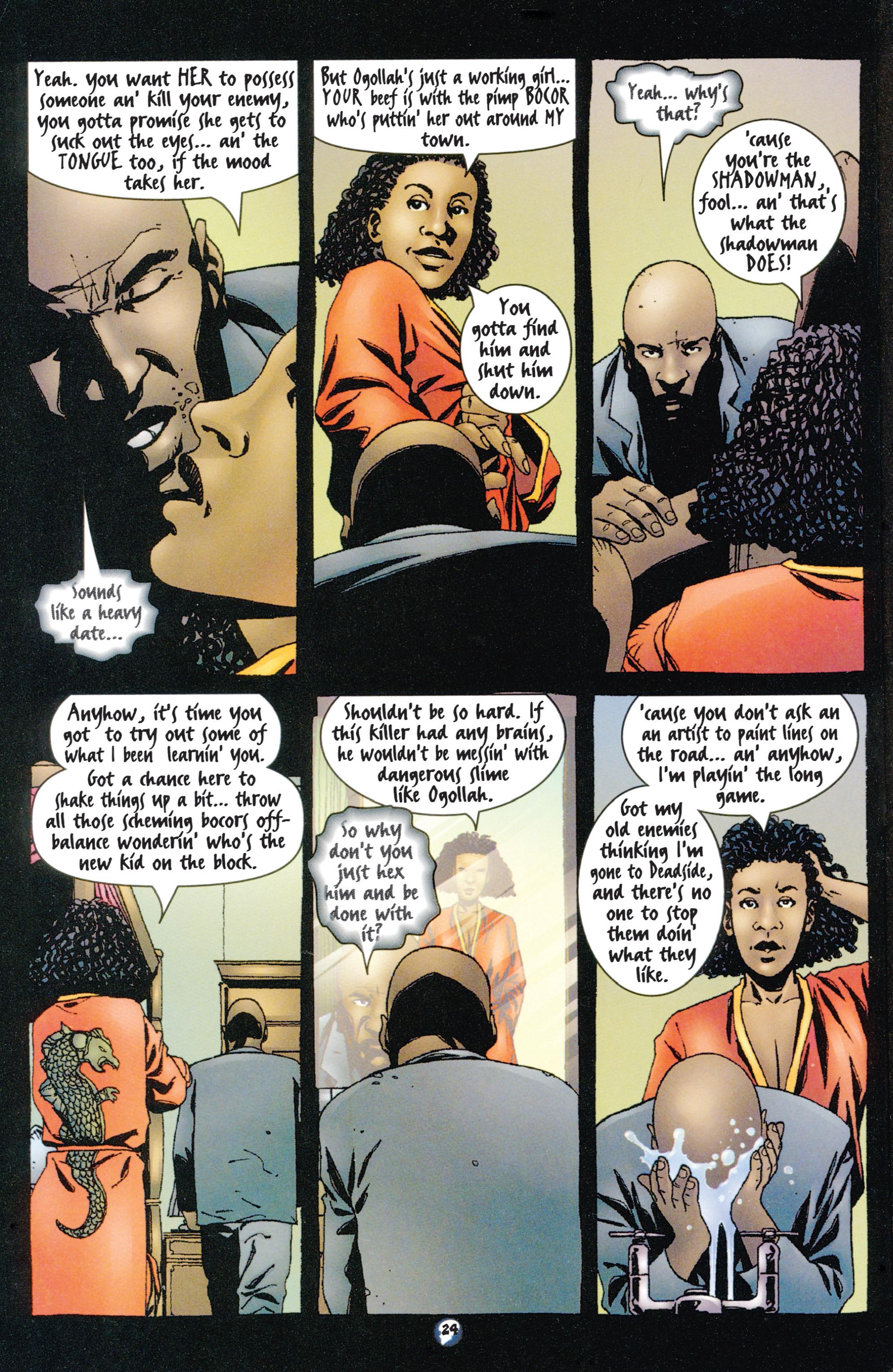 Read online Shadowman (1997) comic -  Issue #9 - 19