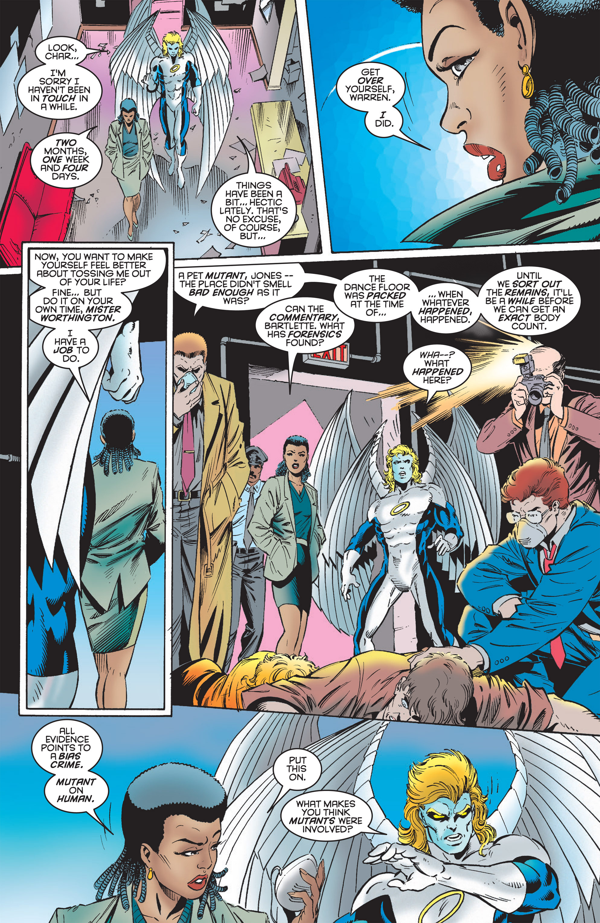 Read online Uncanny X-Men (1963) comic -  Issue #322 - 4