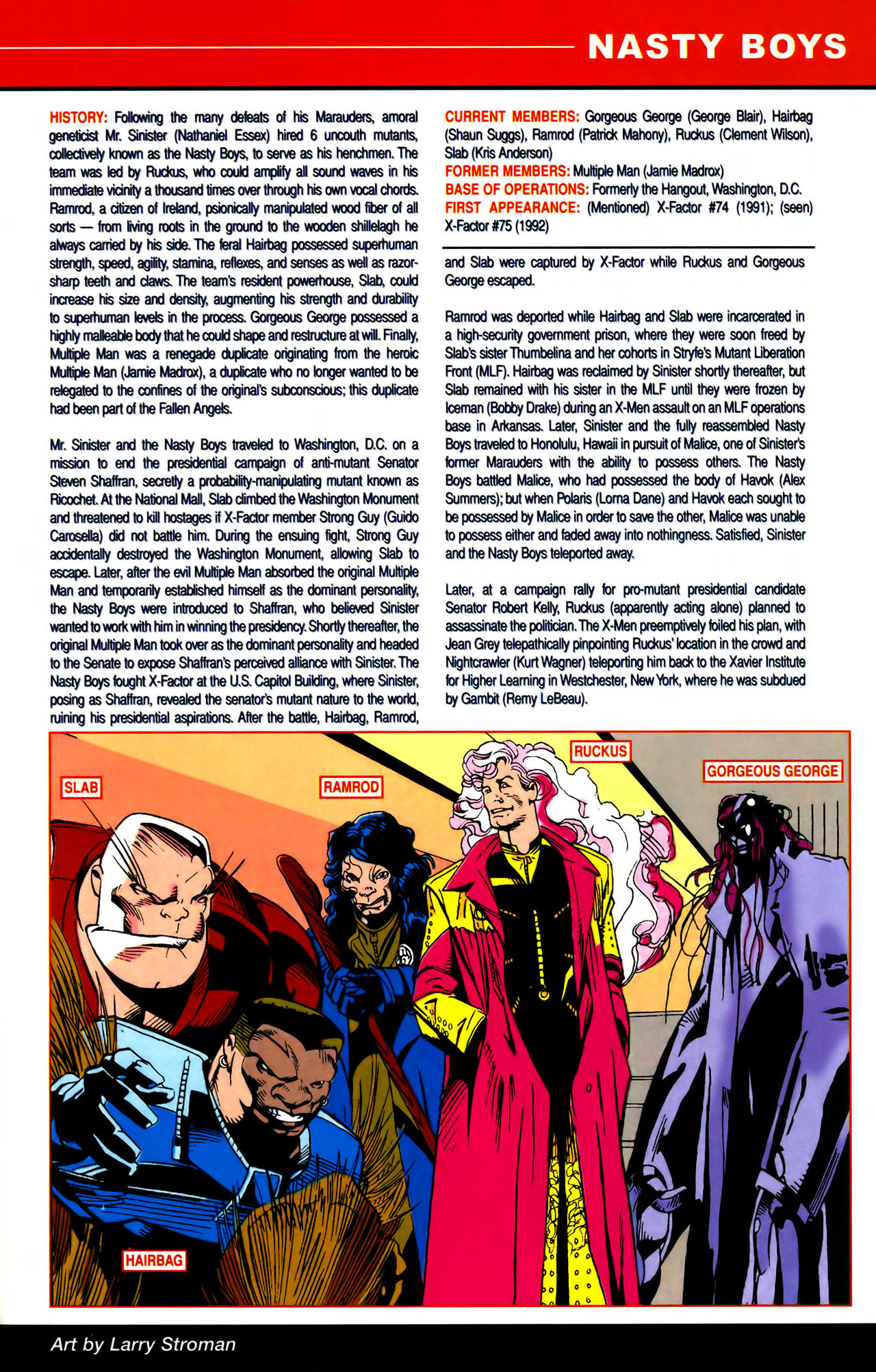 Read online All-New Official Handbook of the Marvel Universe A to Z comic -  Issue #7 - 61