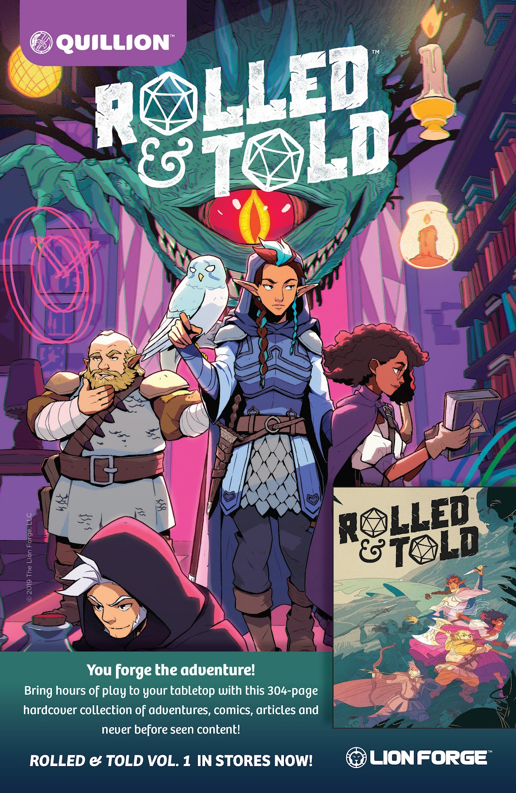 Read online Rolled & Told comic -  Issue #11 - 2