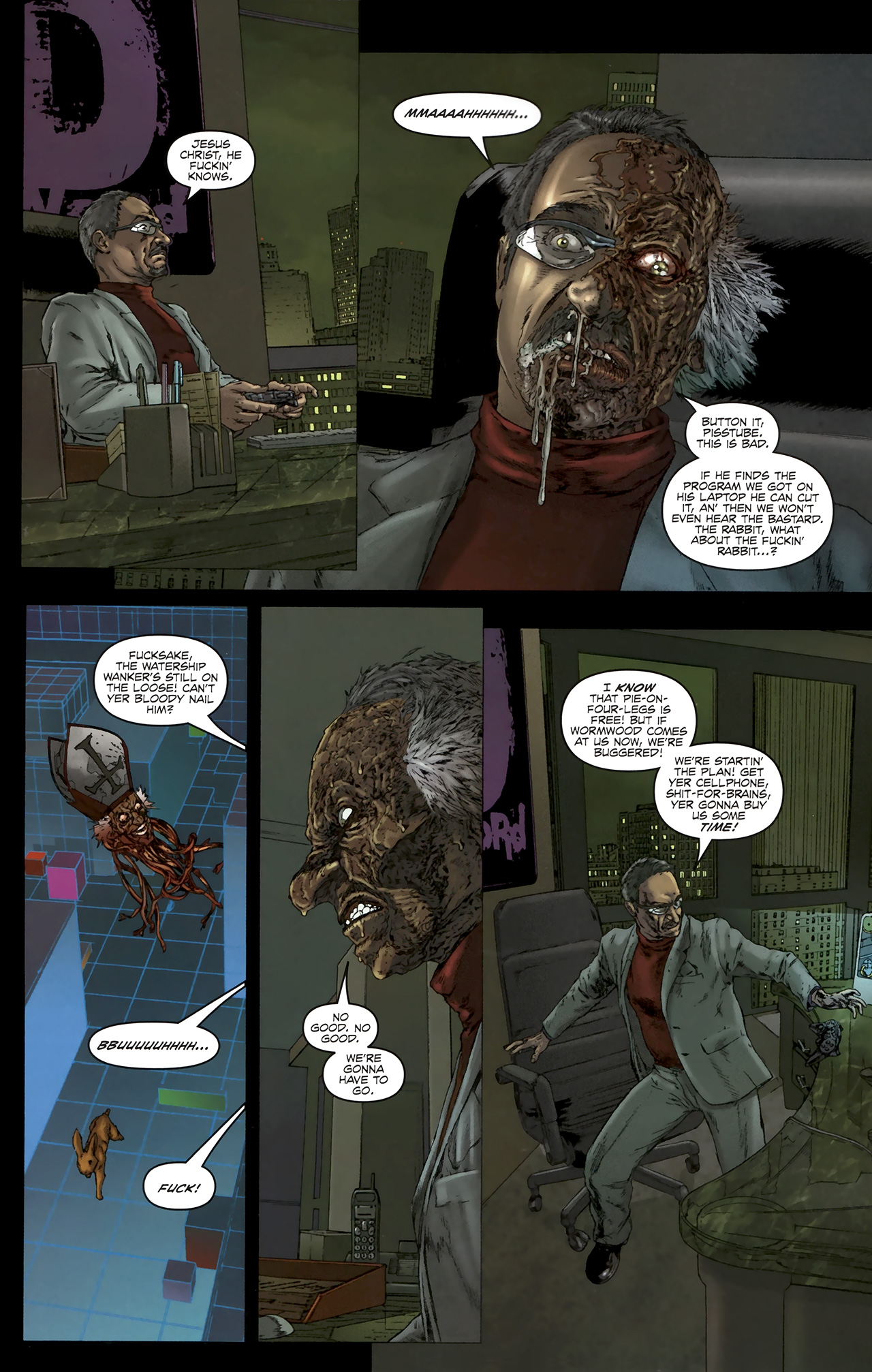 Read online Chronicles of Wormwood: The Last Battle comic -  Issue #5 - 12
