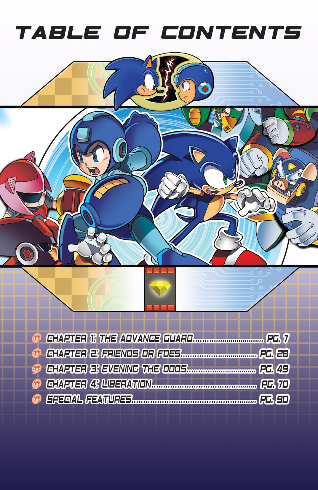 Read online Sonic Mega Man Worlds Collide comic -  Issue # Vol 2 - 4