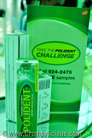 take the polident challenge