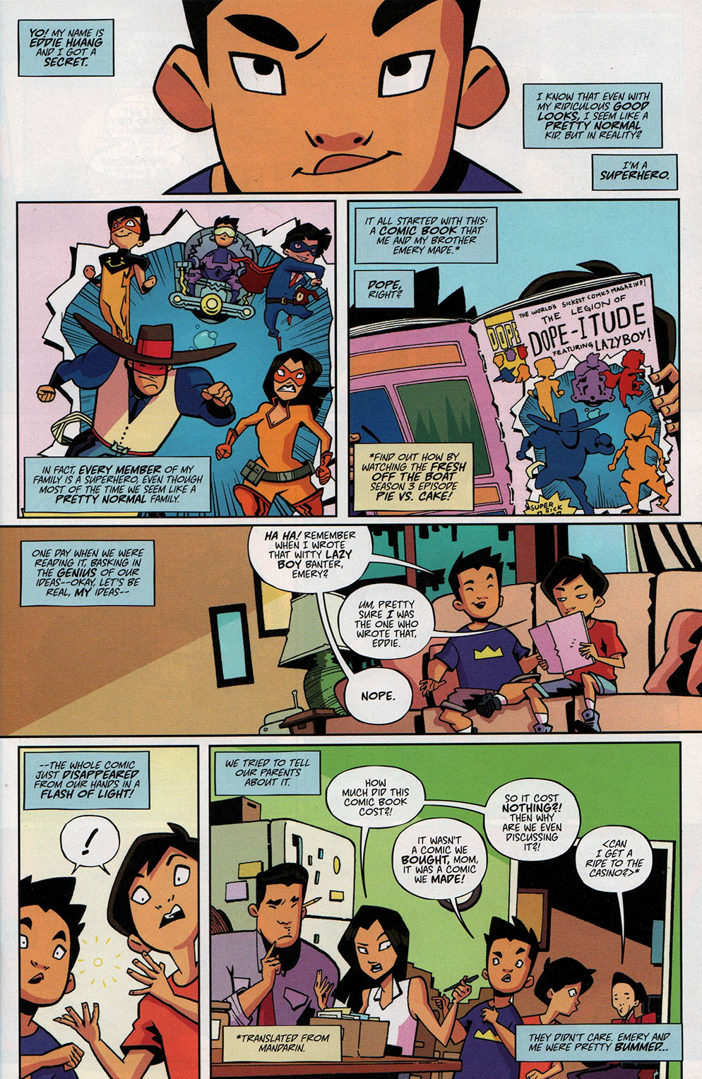Read online Free Comic Book Day 2017 comic -  Issue # Fresh Off The Boat - 3