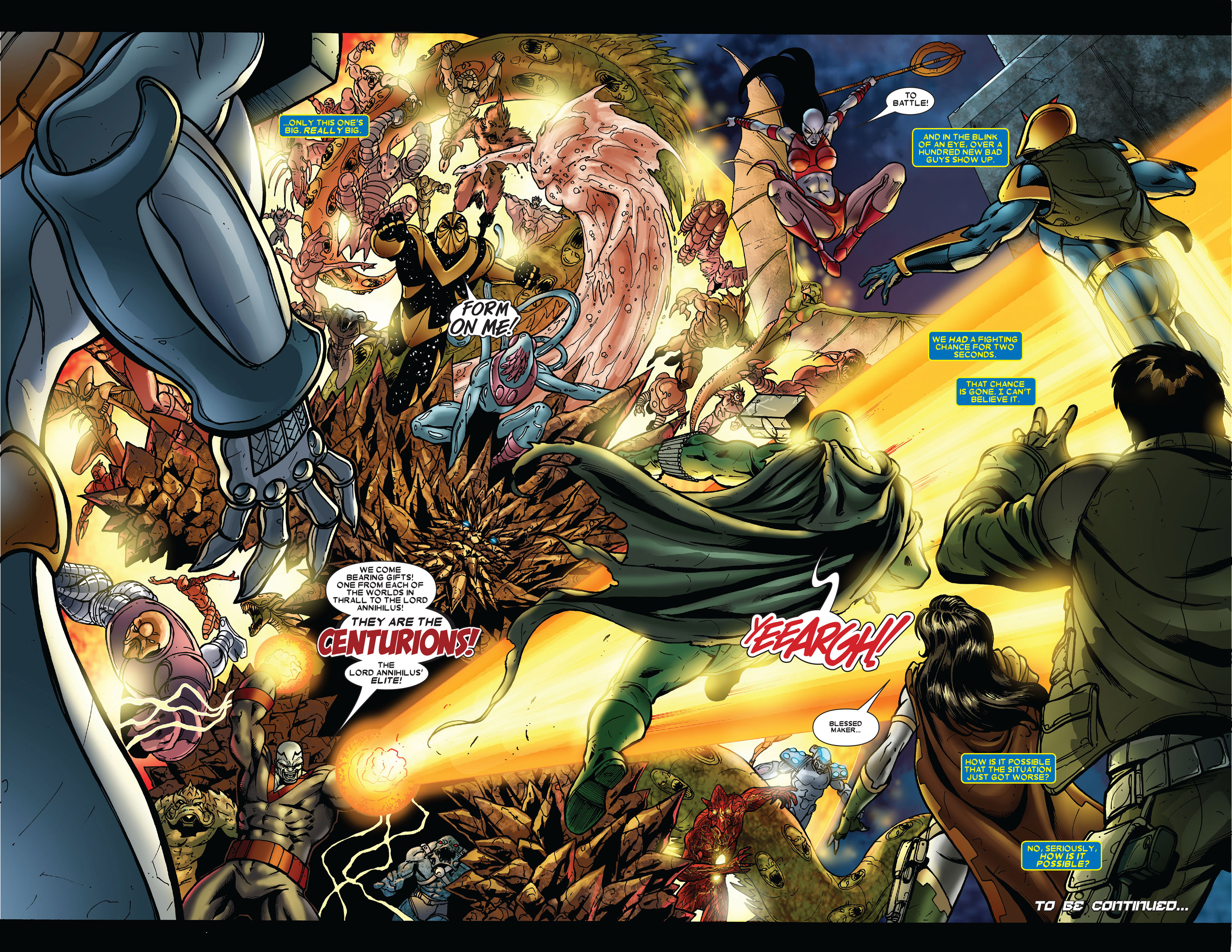 Read online Annihilation comic -  Issue #2 - 23