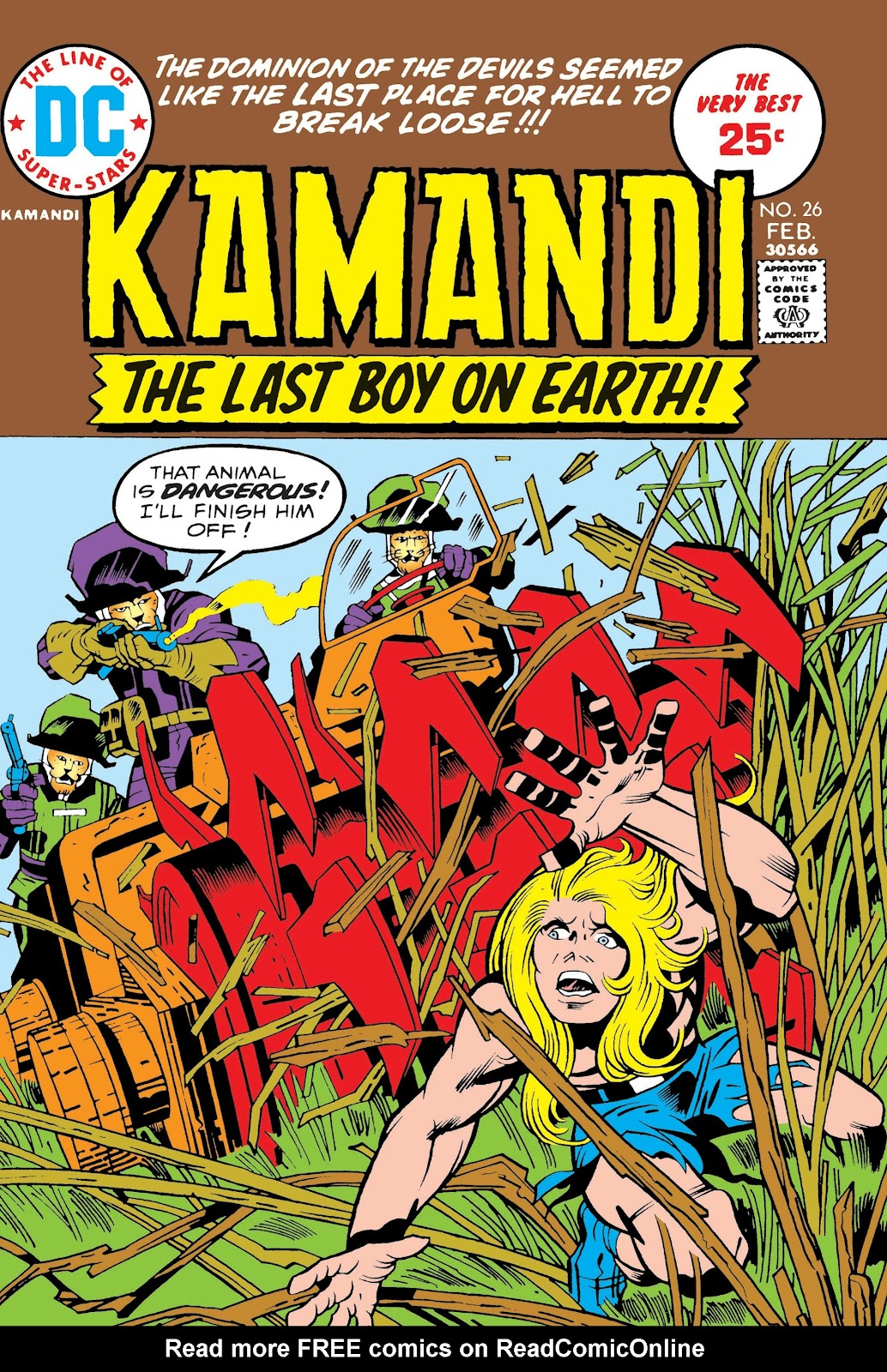 Kamandi, The Last Boy On Earth issue 26 - Page 1