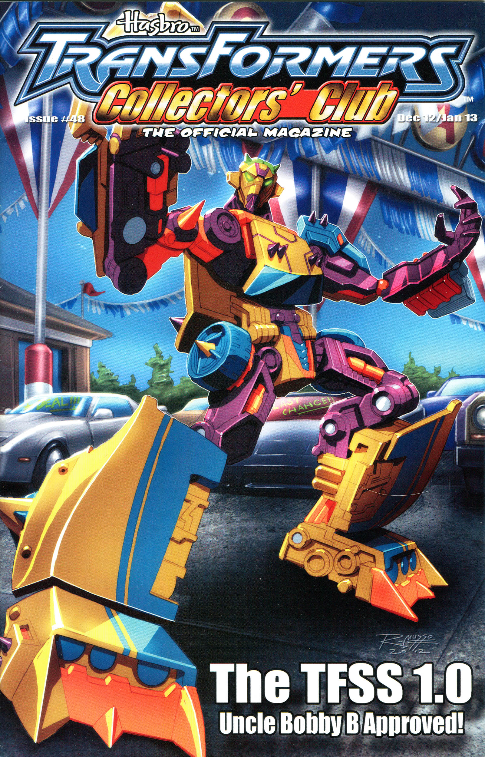 Read online Transformers: Collectors' Club comic -  Issue #48 - 1