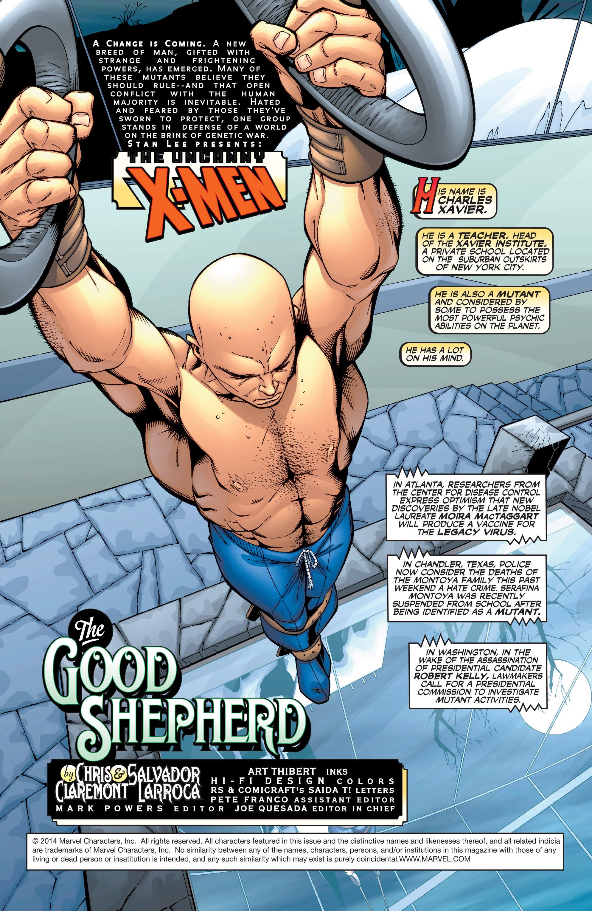 Read online Uncanny X-Men (1963) comic -  Issue #389 - 2