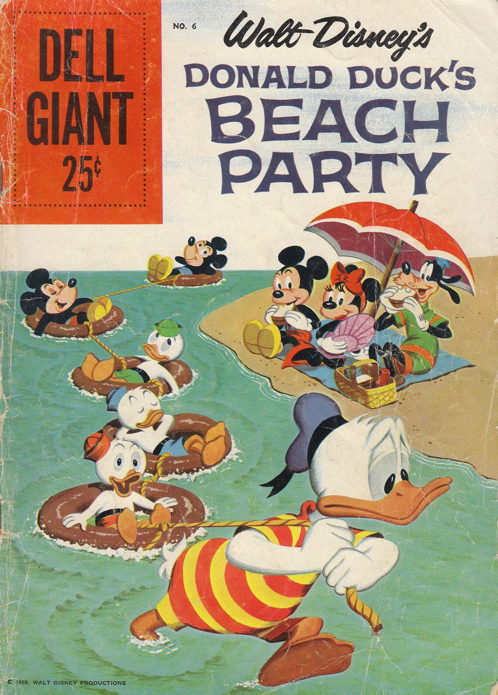Donald Duck Beach Party issue 6 - Page 1