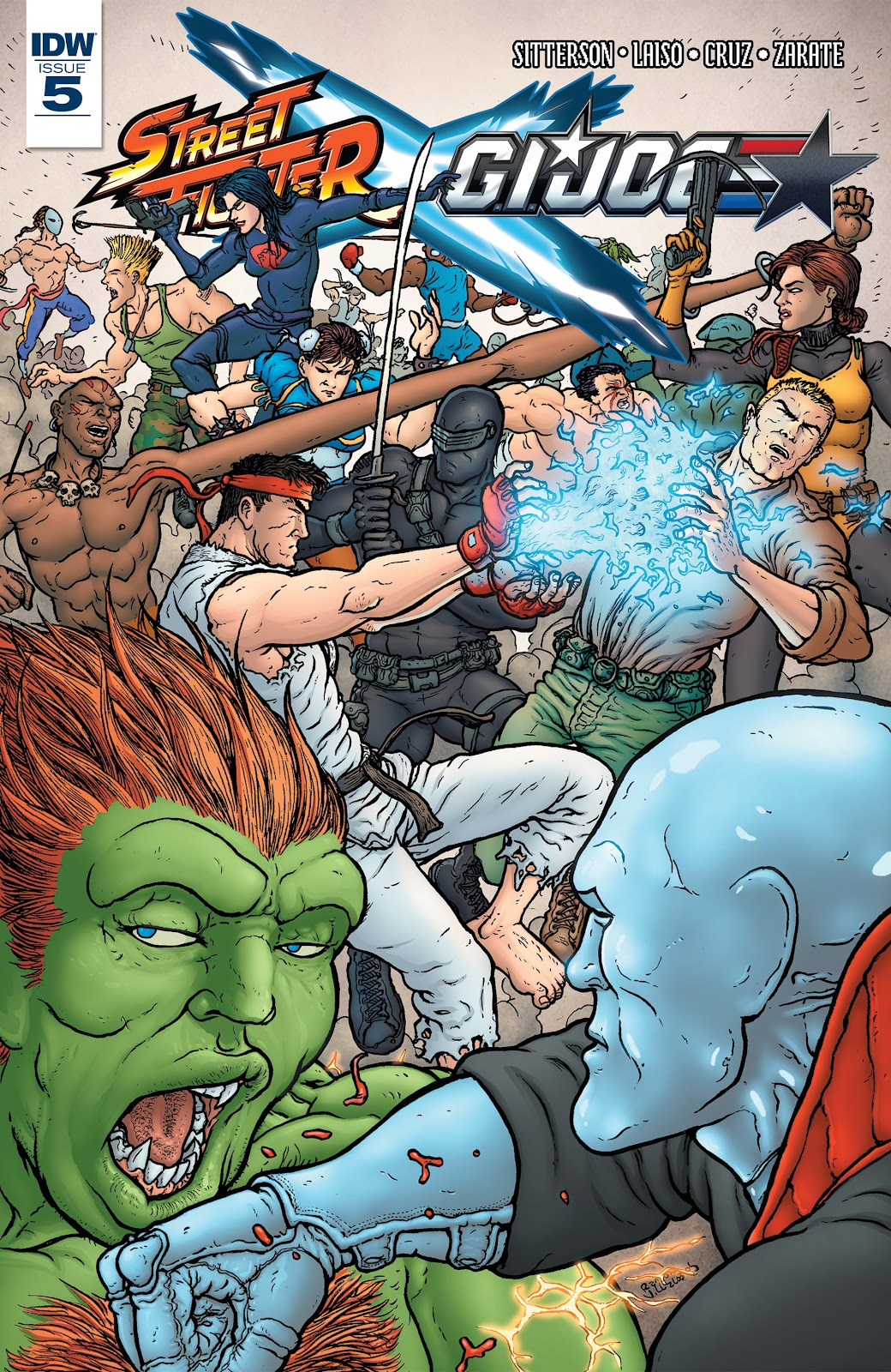 Street Fighter X G.I. Joe 5 Page 1