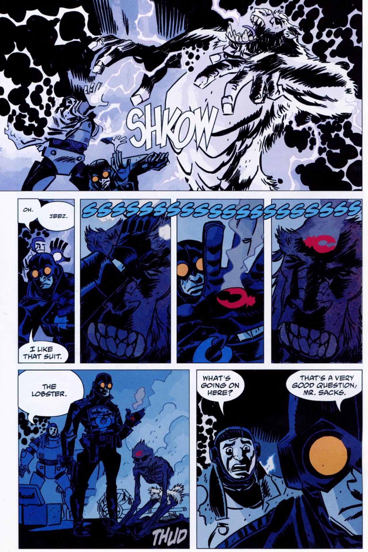 Read online Lobster Johnson: The Iron Prometheus comic -  Issue #1 - 10
