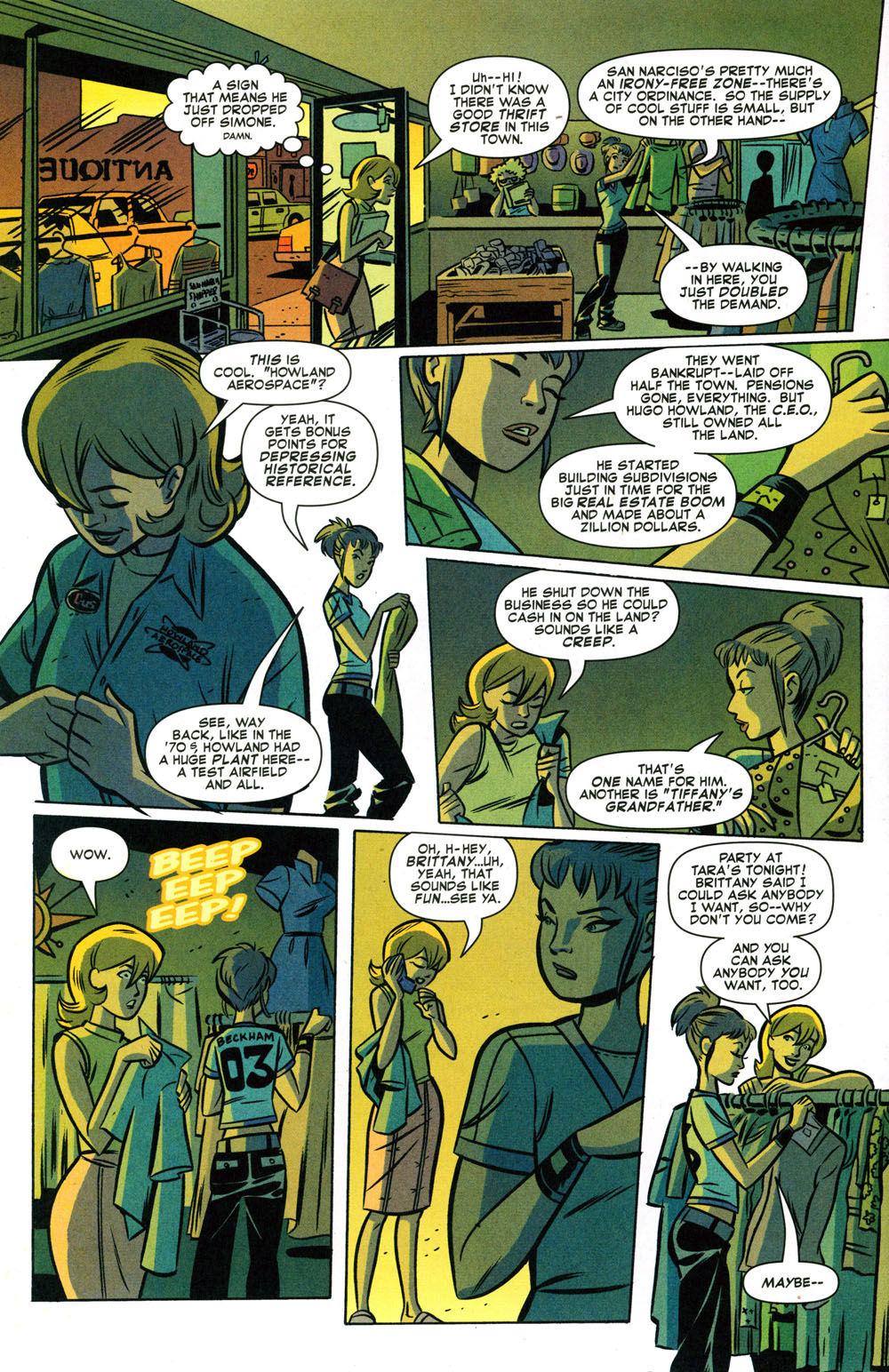 Read online Bad Girls comic -  Issue #2 - 11