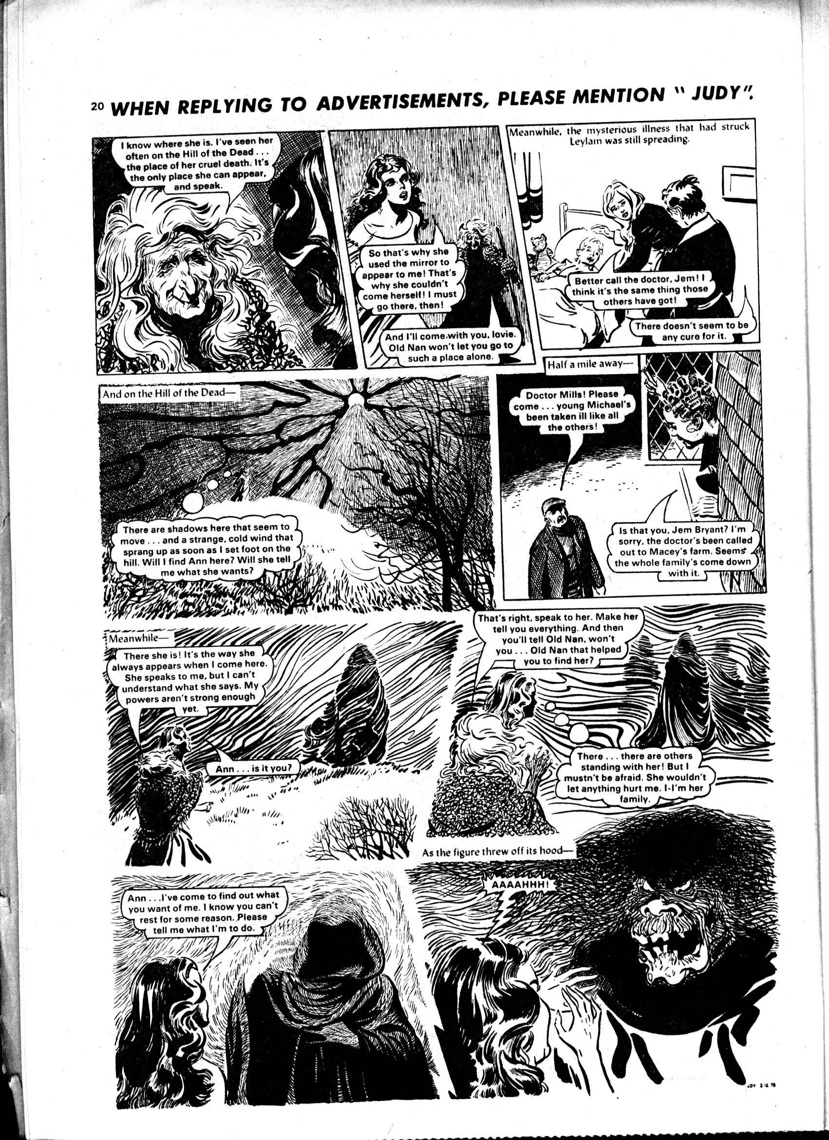 Read online Judy comic -  Issue #986 - 20