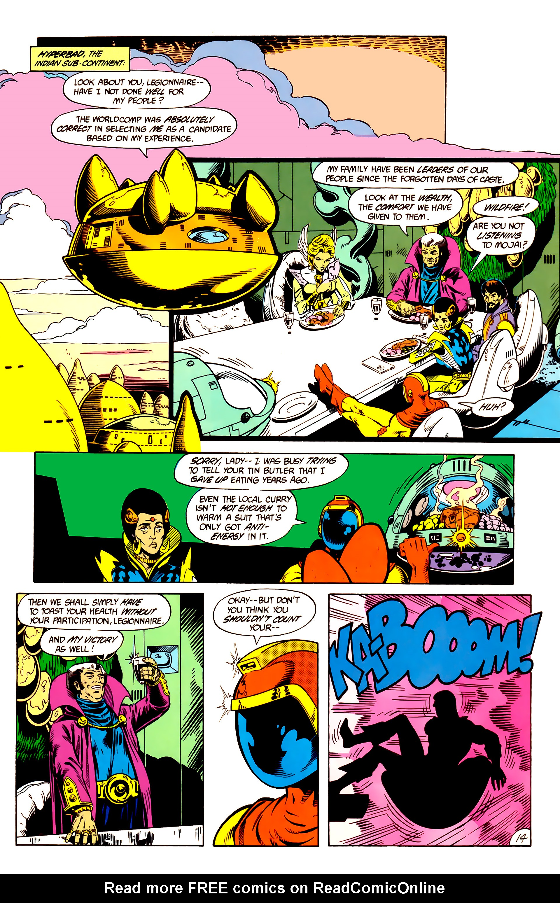 Legion of Super-Heroes (1984) 10 Page 15