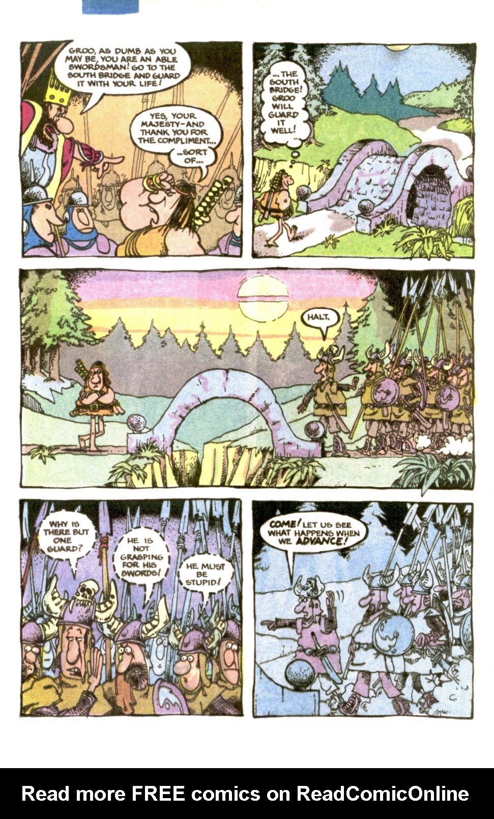 Read online Sergio Aragonés Groo the Wanderer comic -  Issue #1 - 10