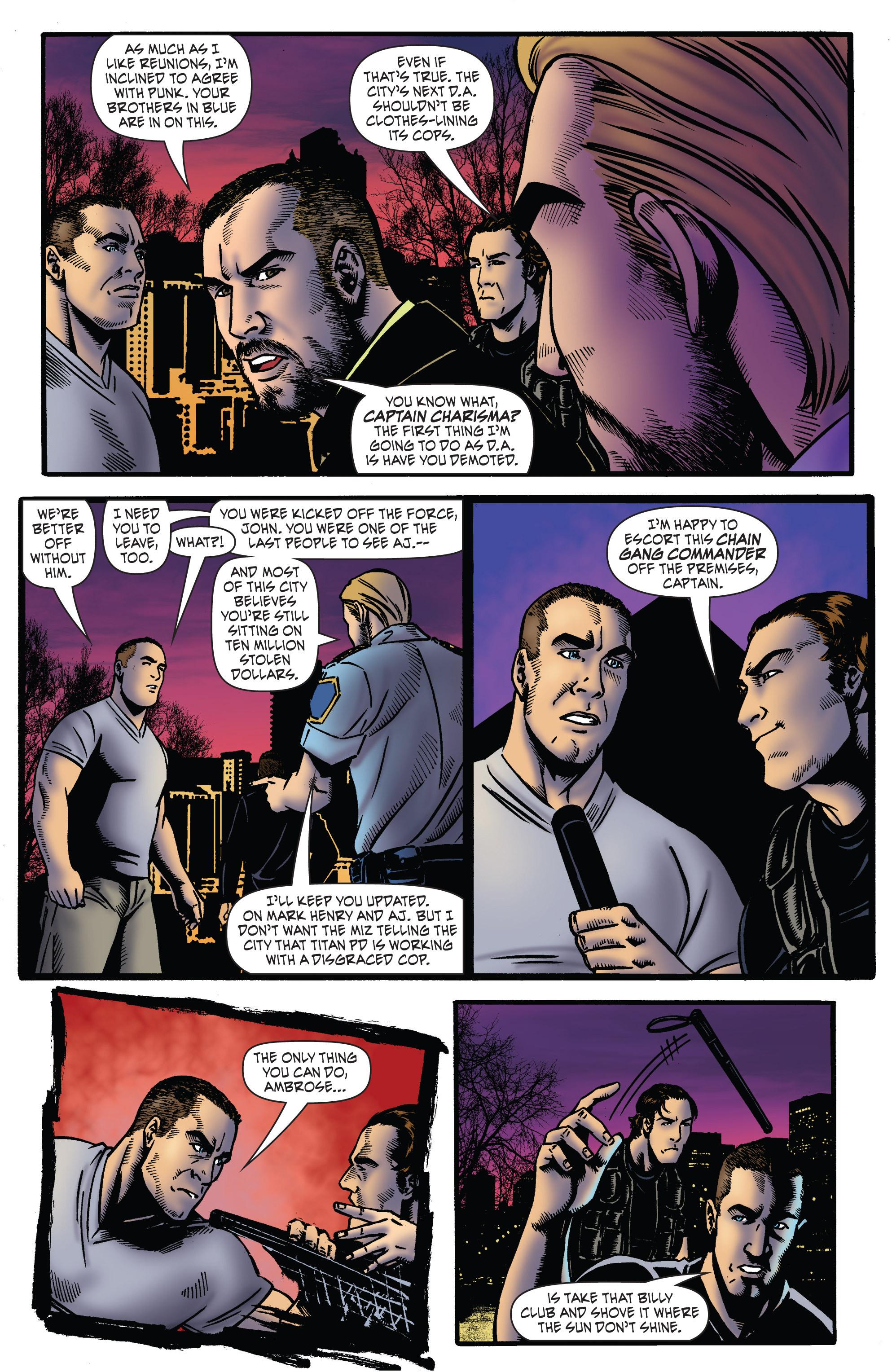 Read online WWE Superstars comic -  Issue #2 - 10