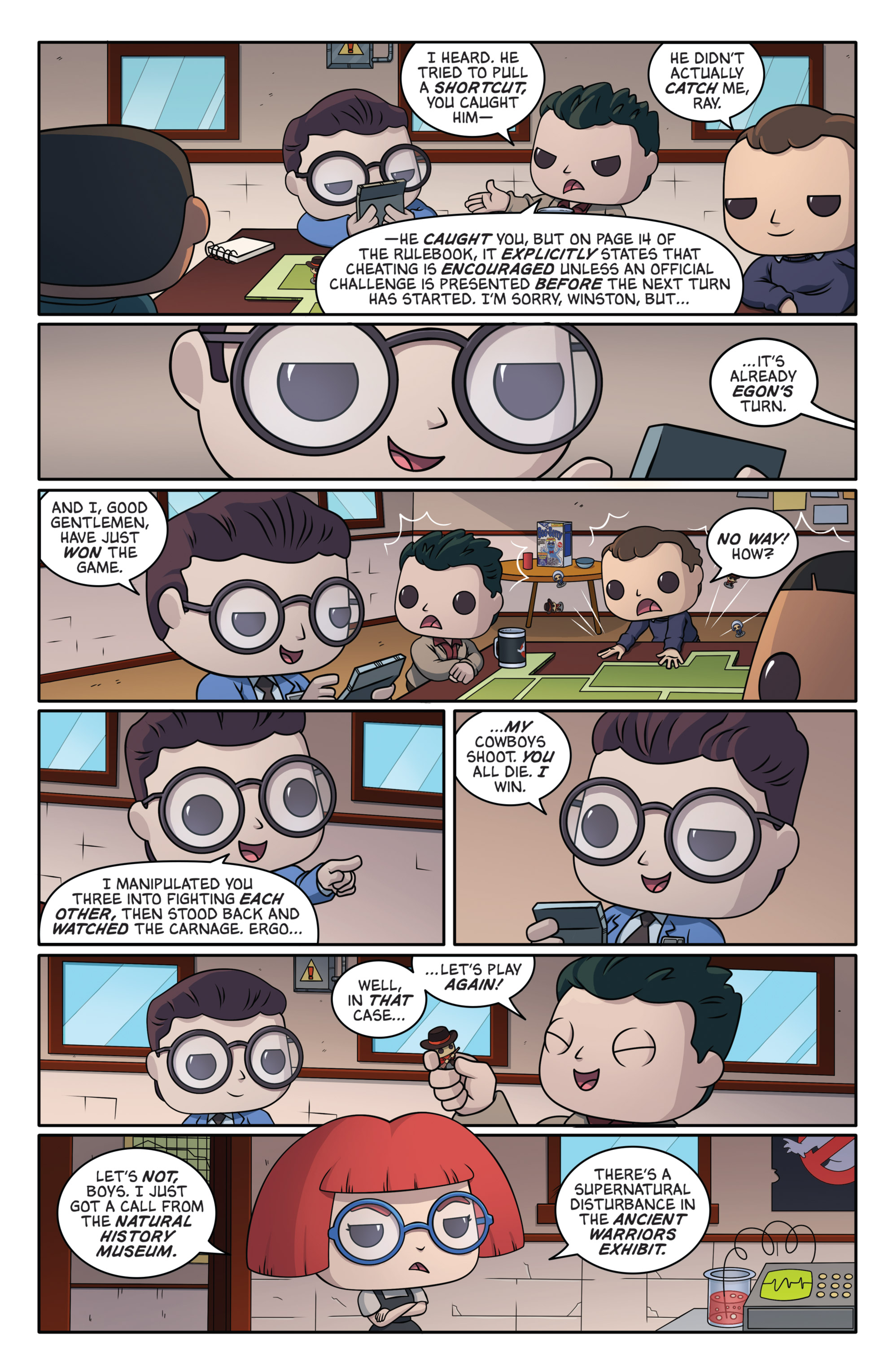 Read online Ghostbusters Funko Universe comic -  Issue # Full - 5