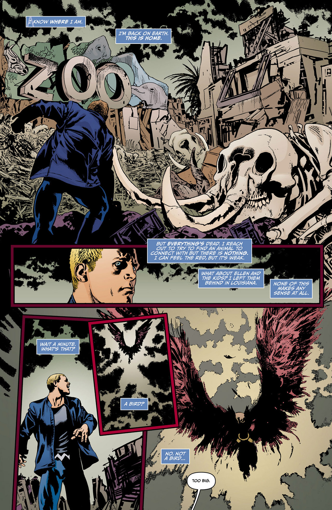 Read online Animal Man (2011) comic -  Issue #13 - 3