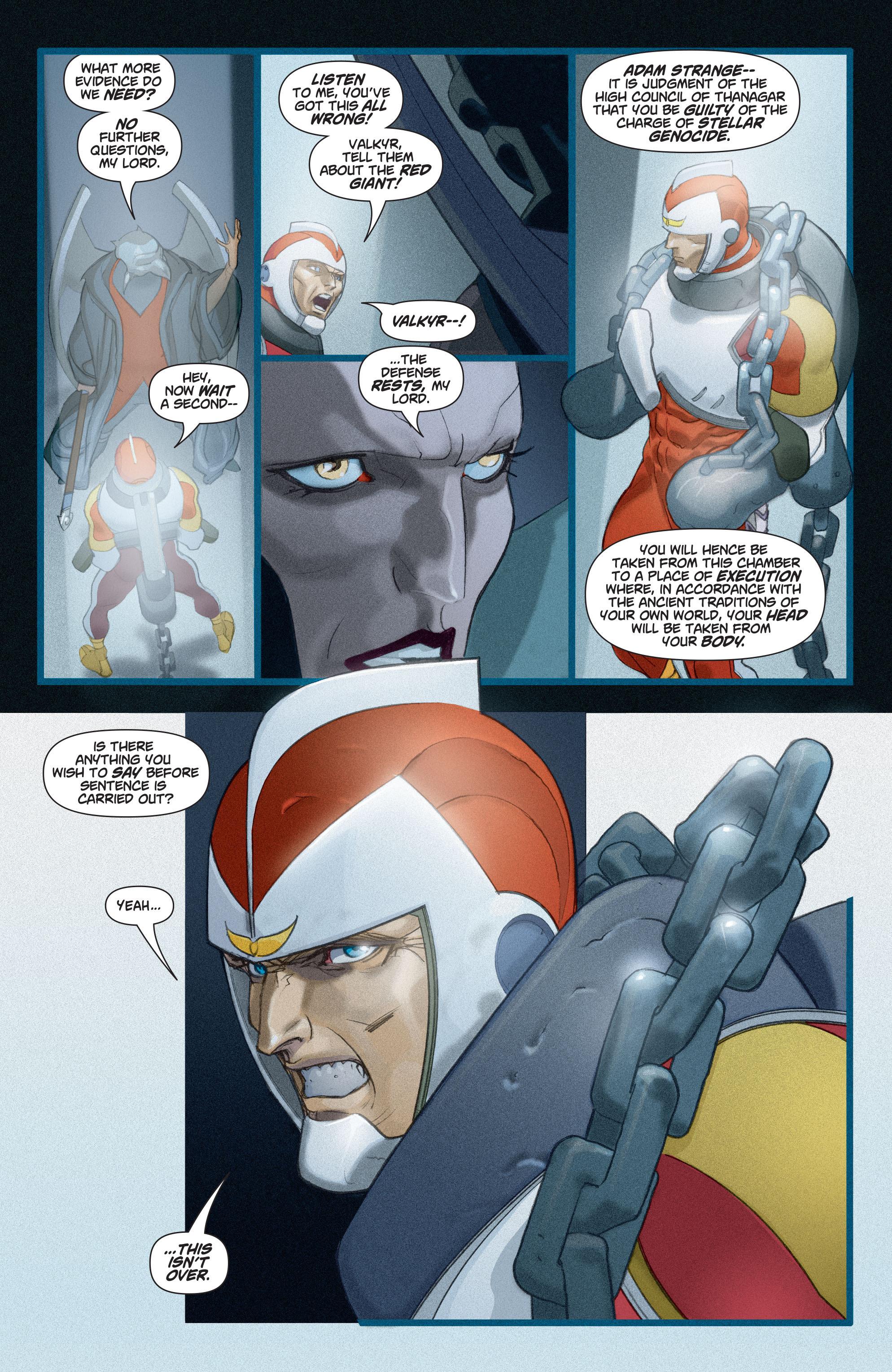 Read online Adam Strange (2004) comic -  Issue #3 - 20