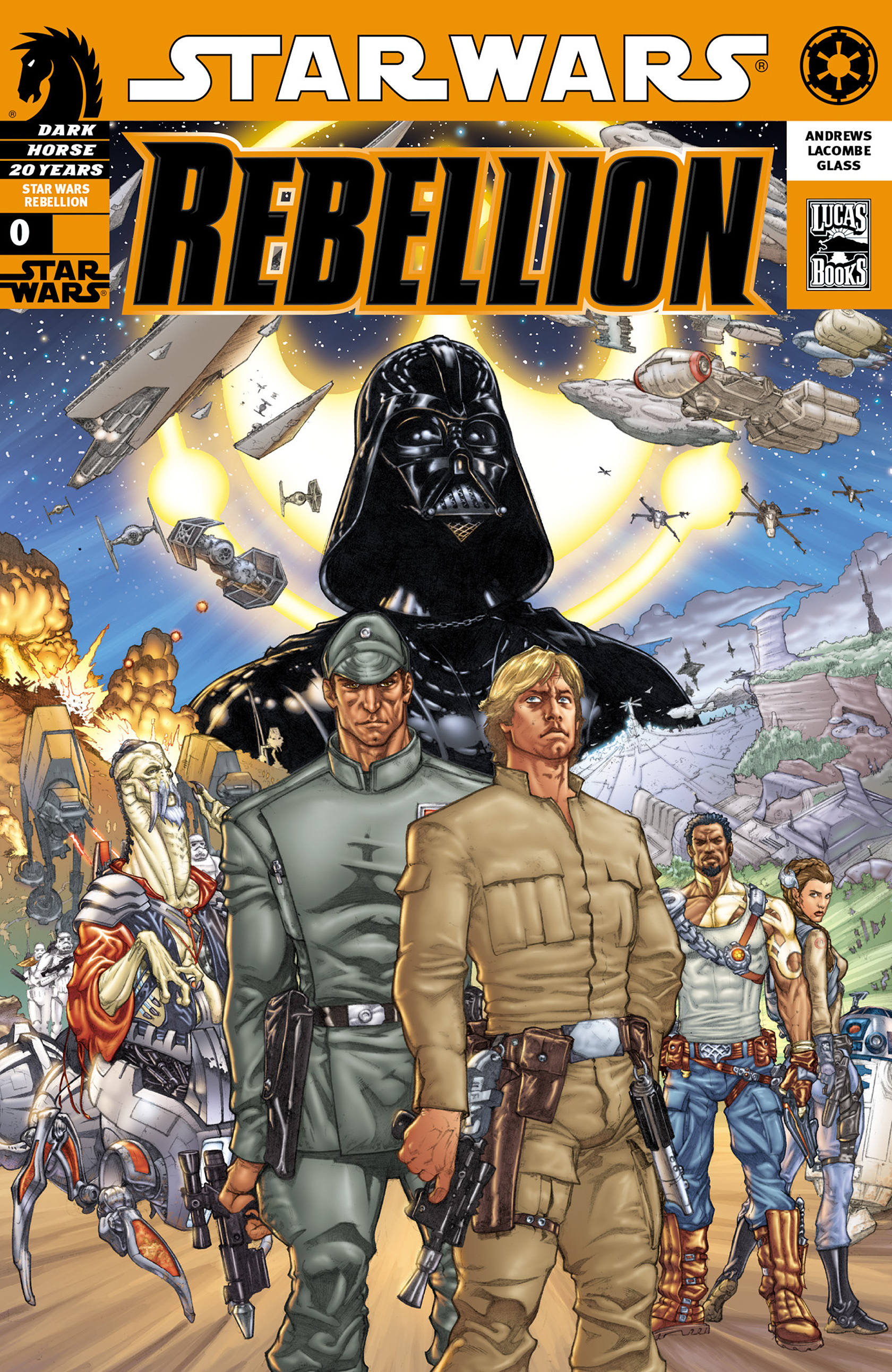 Star Wars: Rebellion 0 Page 1