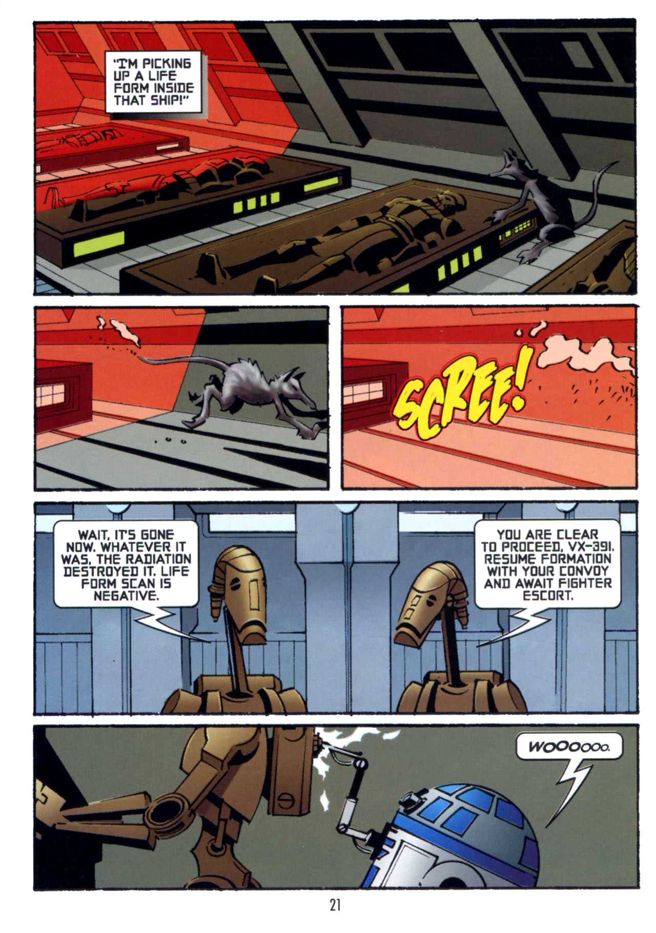 Read online Star Wars: The Clone Wars - Shipyards of Doom comic -  Issue # Full - 20