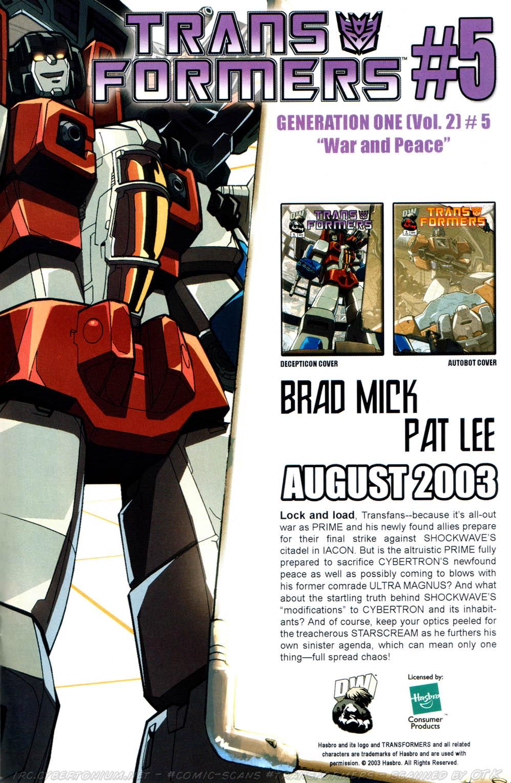 Read online Transformers Armada comic -  Issue #12 - 32