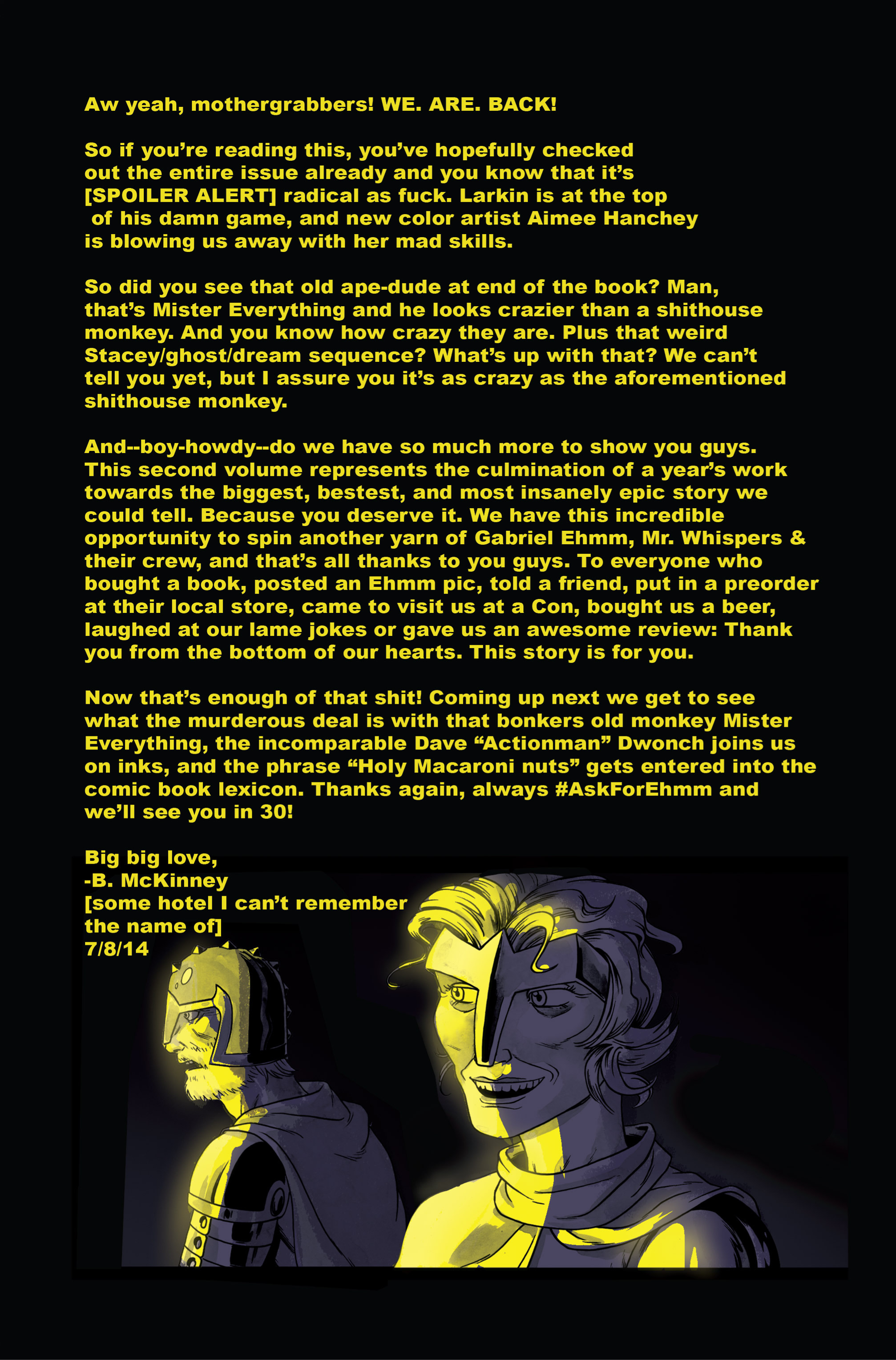 Read online Ehmm Theory: Everything & Small Doses comic -  Issue #1 - 27