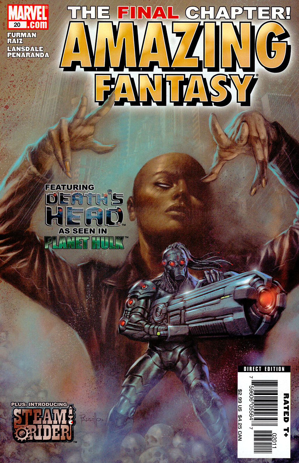 Read online Amazing Fantasy (2004) comic -  Issue #20 - 1
