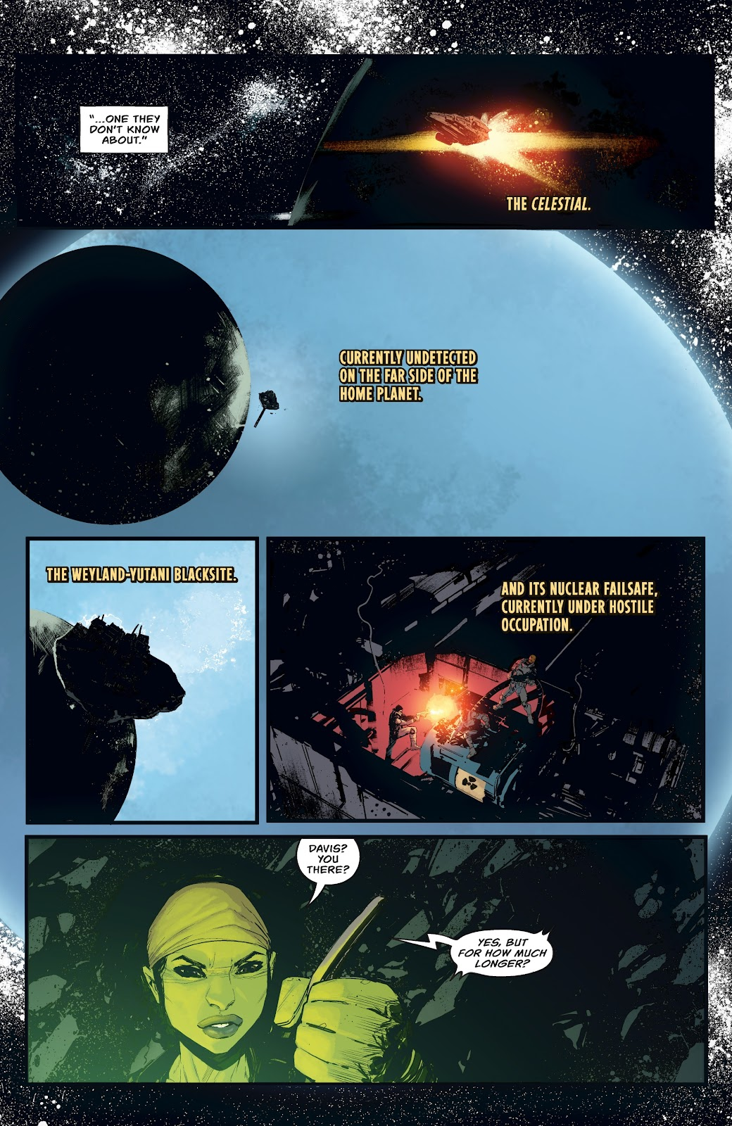 Read online Aliens: Resistance comic -  Issue #4 - 12