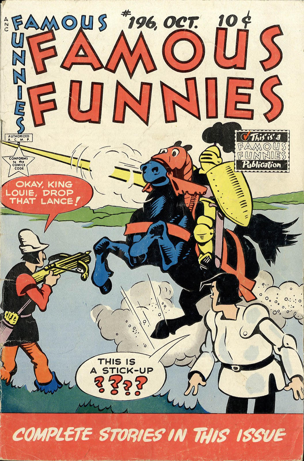 Read online Famous Funnies comic -  Issue #196 - 1