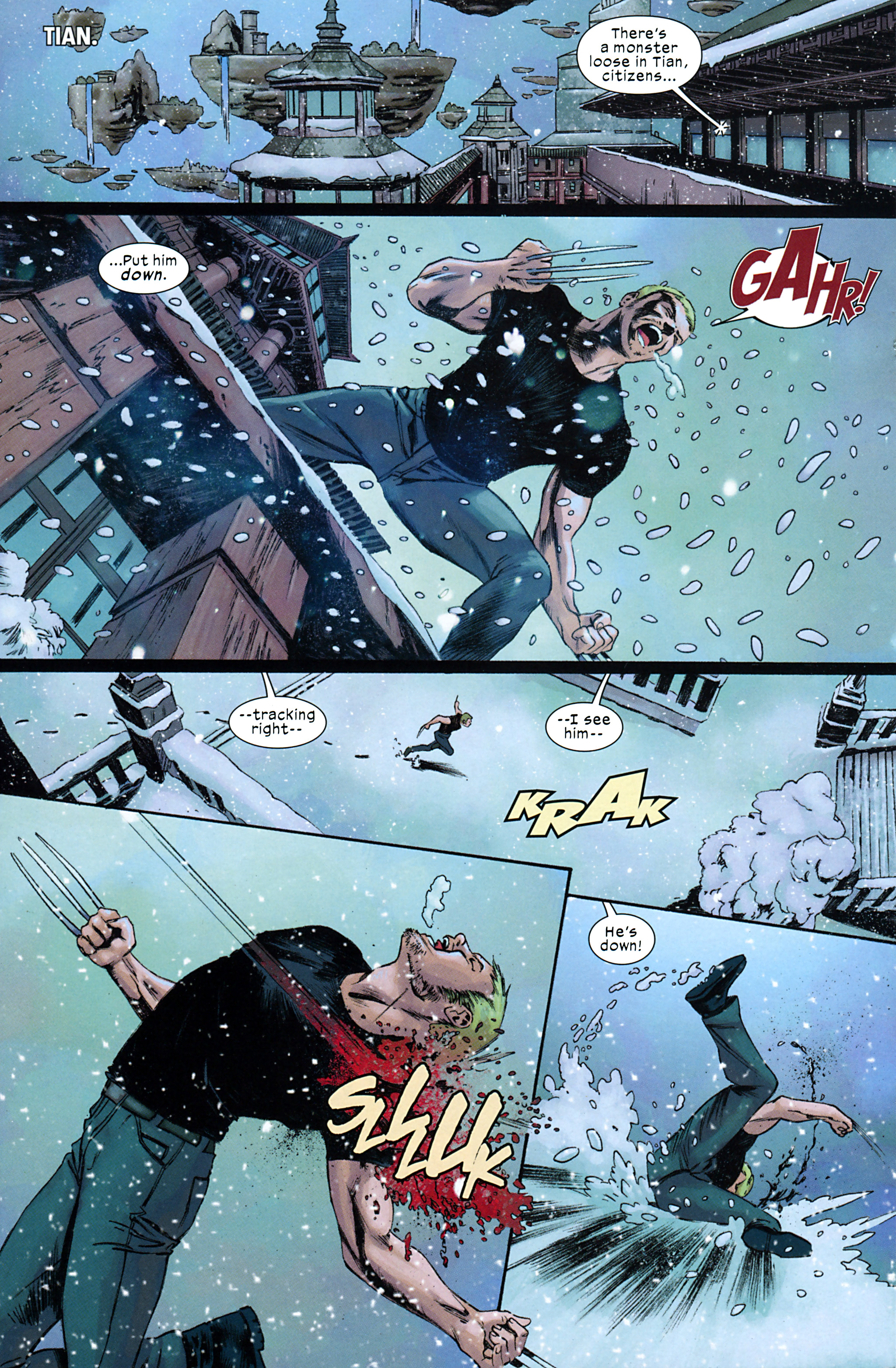 Read online Ultimate Comics X-Men comic -  Issue #32 - 7