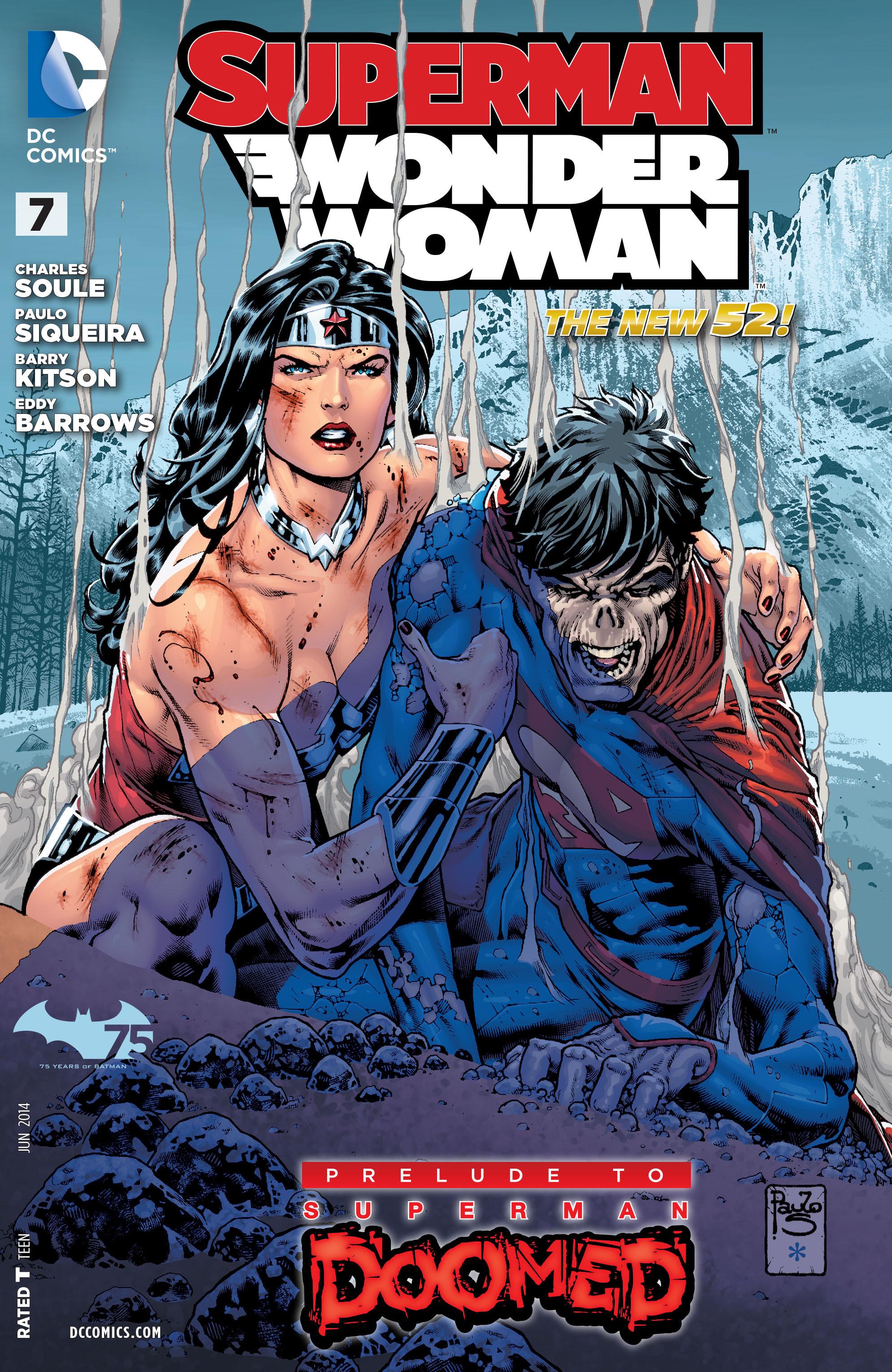 Superman/Wonder Woman 7 Page 1