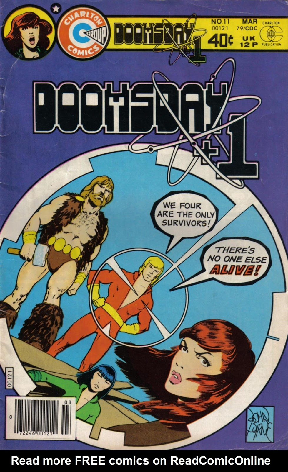 Read online Doomsday   1 (1975) comic -  Issue #11 - 1