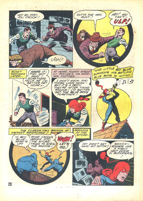 Read online Sensation (Mystery) Comics comic -  Issue #23 - 27