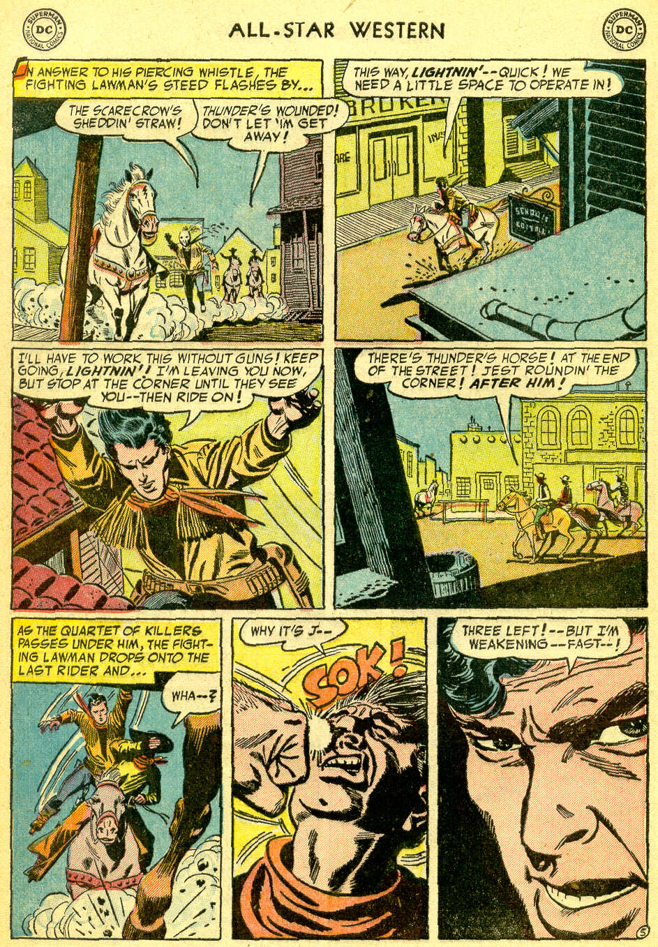 Read online All-Star Western (1951) comic -  Issue #75 - 32
