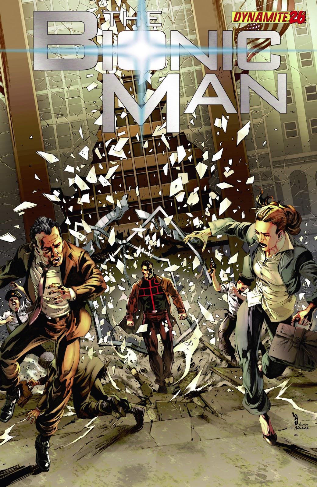 Bionic Man 26 Page 1