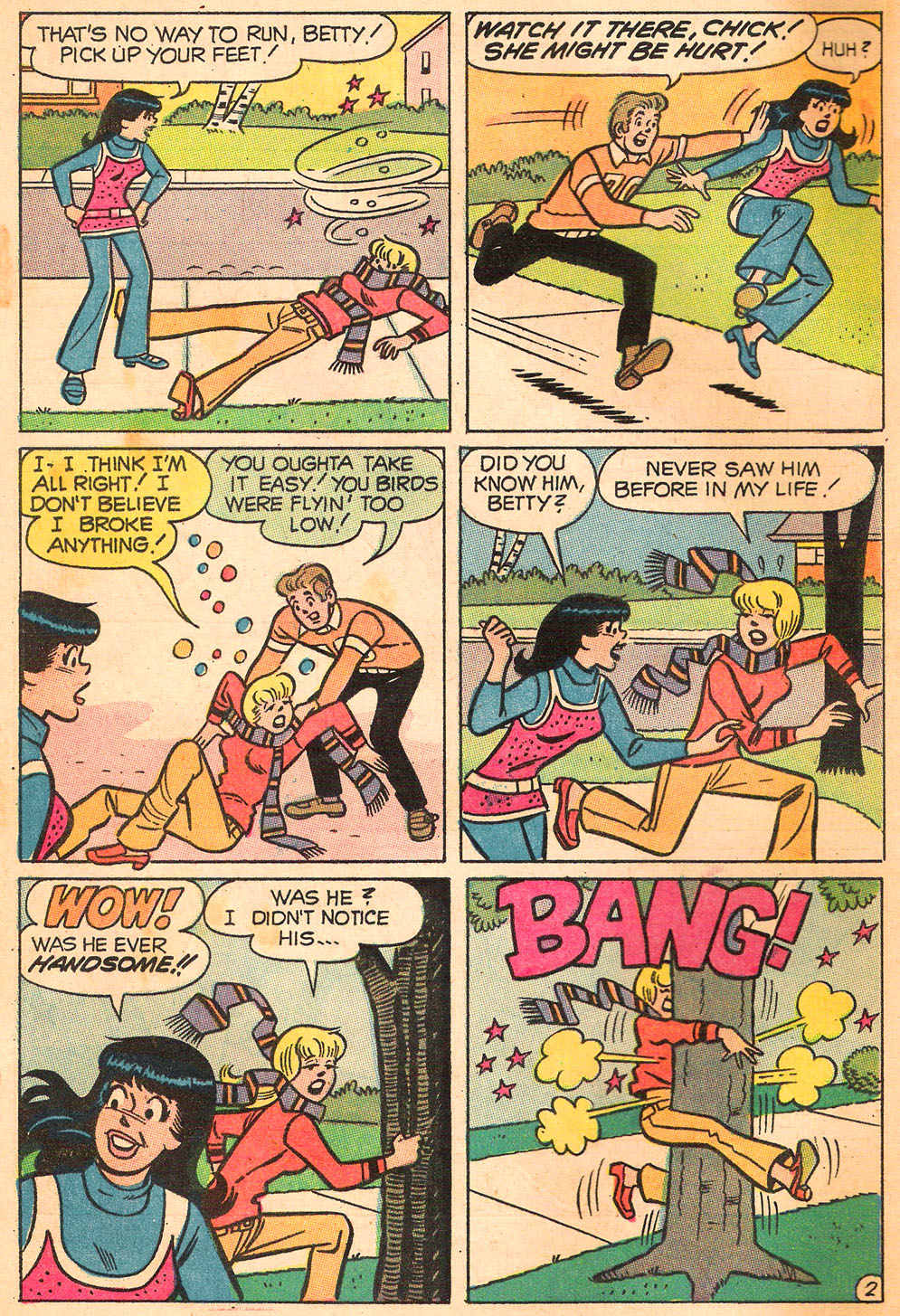 Read online Archie's Girls Betty and Veronica comic -  Issue #173 - 4