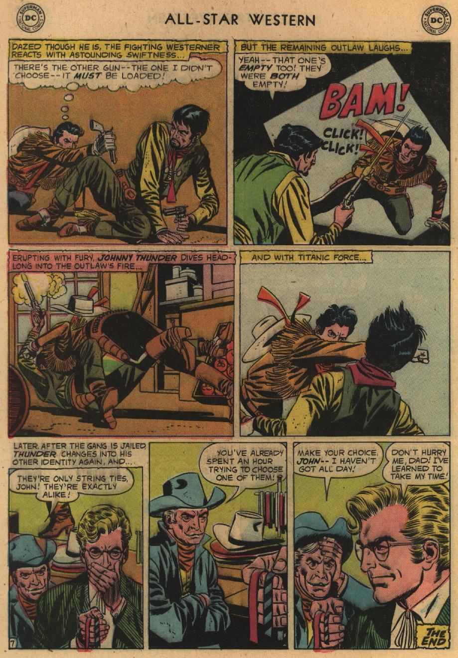Read online All-Star Western (1951) comic -  Issue #100 - 32